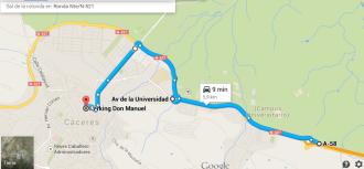Pulsa para ir a Google Maps